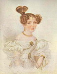 Portrait of a Young Woman in White.