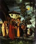 The Departure of St. Florian