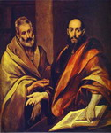 St. Paul and St. Peter.