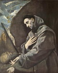 St. Francis in Meditation.