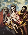 Holy Family with St. Anne.