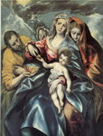 Holy Family with Mary Magdalen.