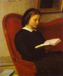 The Reader (Marie Fantin-Latour, the Artist's Sister).