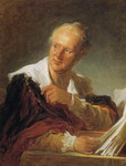 Portrait of Diderot.