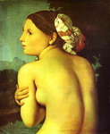 Half-figure of a Bather.