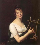 Woman with a Lyre.