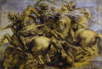 Copy of the Battle of Anghiari by Leonardo.