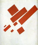 Suprematism with Eight Rectangles.