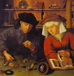 The Moneylender and His Wife.