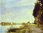 The Riverside Path at Argenteuil.