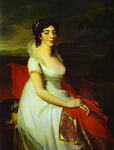 Portrait of Countess Elisabeth Shakhovskaya.