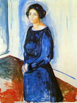 Woman in Blue (Frau Barth).
