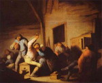 Peasants in a Tavern.