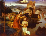 The Baptism of Christ.
