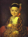 Portrait of Count Alexey Bobrinsky as a Child.