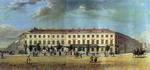 Panorama of the Nevsky Prospekt.