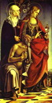 SS. Catherine of Siena, Mary Magdalene and Jerome.