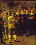 Members of Antwerp Town Council and Masters of the Armaments Guild. Detail.