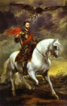Portrait of Charles V on Horseback.