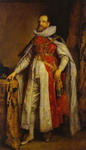 Portrait of Henry Danvers, Earl of Danby, as a Knight of the Order of the Garter.