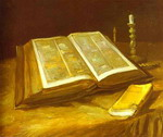 Still Life with Open Bible
