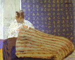 Mrs Vuillard Sewing