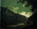 Dovedale by Moonlight.