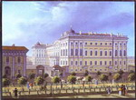 Anichkov Palace in St. Petersburg.