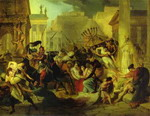 Genserich's Invasion of Rome. Study.