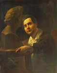 Portrait of Sculptor I. P. Vitaly.