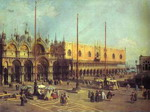 Piazza San Marco: Looking South-East.