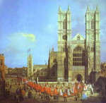 London: Westminster Abbey, with a Procession of Knights of the Bath.