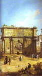 Rome: The Arch of Septimius Severus.