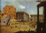 Capitol Square in Rome