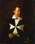 Portrait of a Knight of Malta.