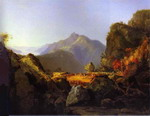 Landscape Scene from the Last of the Mohicans.