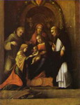 The Mystic Marriage of St. Catherine.