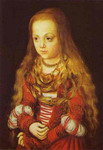 Portrait of a Princess of Saxony.