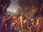 Leonidas at Thermopylae.