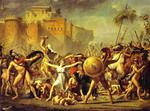 The Intervention of the Sabine Women.