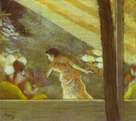 At the Cafe des Ambassadeurs.
