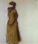 Lady in Town Clothes.