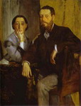 Portrait of Monsieur and Madame Edmondo Morbilli.
