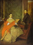 Portrait of Edmondo and Thérèse Morbilli.