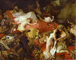 The Death of Sardanapalus.