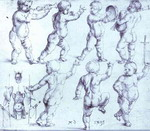 Putti Dancing and Making Music.