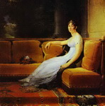 Portrait of Joséphine, Wife of Napoleon, at Malmaison.