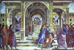 Expulsion of Joachim from the Temple.