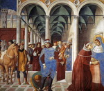 Arrival of St. Augustine in Milan.