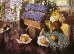 Flowers and Fruits on Grand-Piano